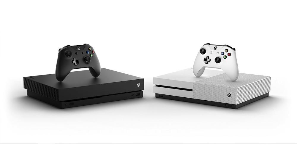 Xbox One X und S
