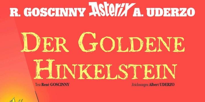 Newsbild zu Asterix: Der goldene Hinkelstein – Unsere Comic-Rezension