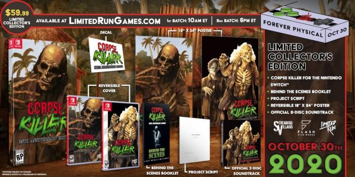 Newsbild zu Limited Run Games bringt eine 25th Anniversary Edition von Corpse Killer auf die Nintendo Switch