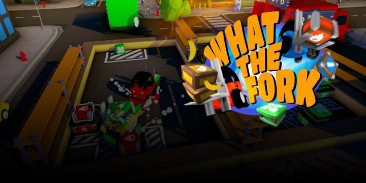 Newsbild zu What The Fork im Test – Chaotischer Mehrspielerspaß mit Gabelstaplern