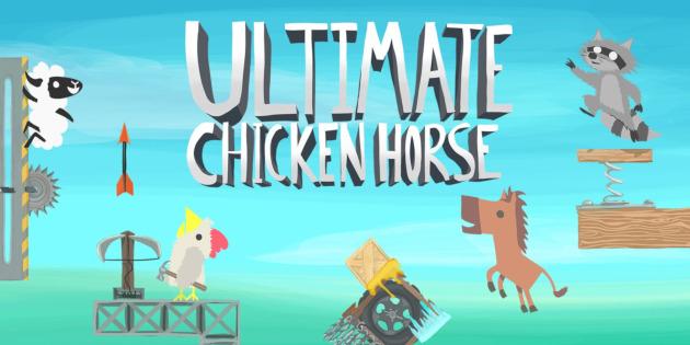 Newsbild zu Ultimate Chicken Horse: Kommendes Update fügt im März neuen Charakter, Level und Crossplay-Funktion hinzu