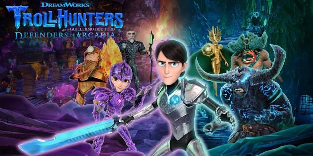 Newsbild zu Bandai Namco Entertainment und Outright Games teilen erstes Spielematerial und genaues Erscheinungsdatum von Trolljäger: Verteidiger von Arcadia