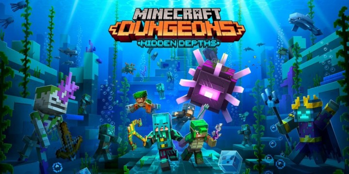 Newsbild zu Minecraft Dungeons: Hidden Depths-DLC erscheint noch diesen Monat – Weiteres kostenloses Update angekündigt