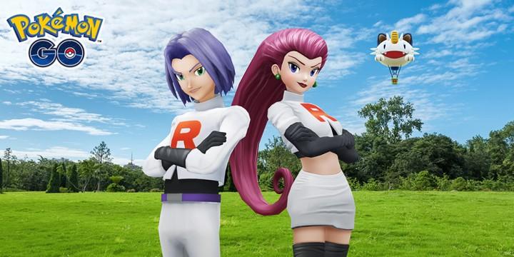 Newsbild zu Jetzt gibt es Ärger: Jessie und James richten für kurze Zeit Chaos in Pokémon GO an