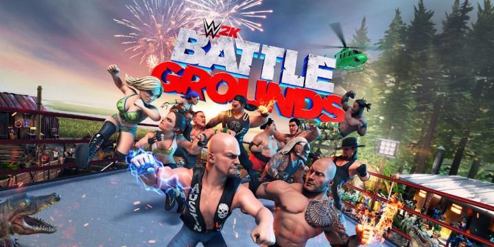 Newsbild zu 2K Games feiert die Veröffentlichung von WWE 2K Battlegrounds mit zwei neuen Trailern