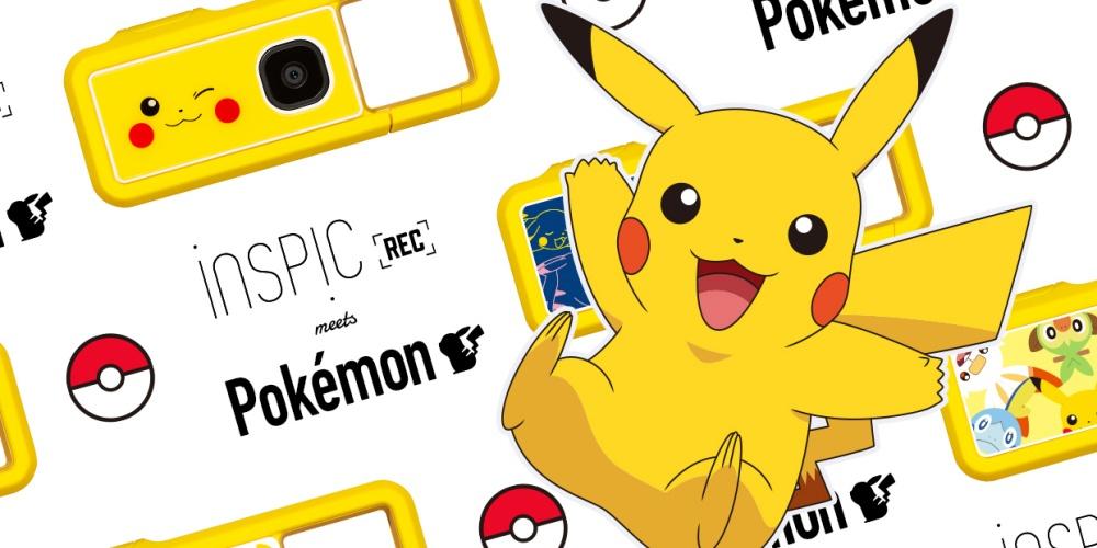 Pokémon Canon iNSPiC Rec Kamera