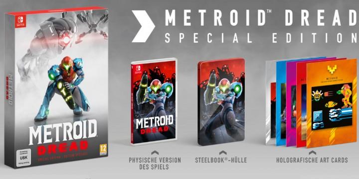 Newsbild zu Jetzt vorbestellen: Metroid Dread sowie die Special Edition bei Amazon