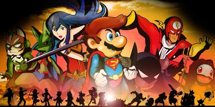 Newsbild zu Super Smash Bros. Ultimate x Marvel & DC Comics: Fan zeichnet Smash-Kämpfer als Superhelden