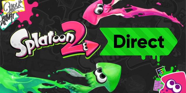 Splatoon 2 Direct für den 6. Juli angekündigt