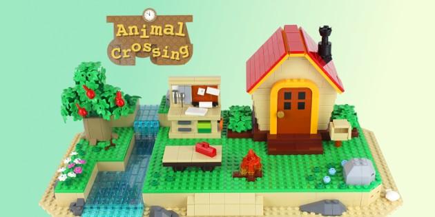 Newsbild zu Inselleben zum selber bauen – Animal Crossing: New Horizons bei LEGO IDEAS