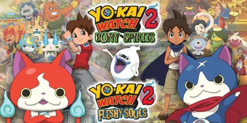 Newsbild zu YO-KAI WATCH 2: Kräftige Seelen & Knochige Gespenster: Update zur Version 2.0 erschienen