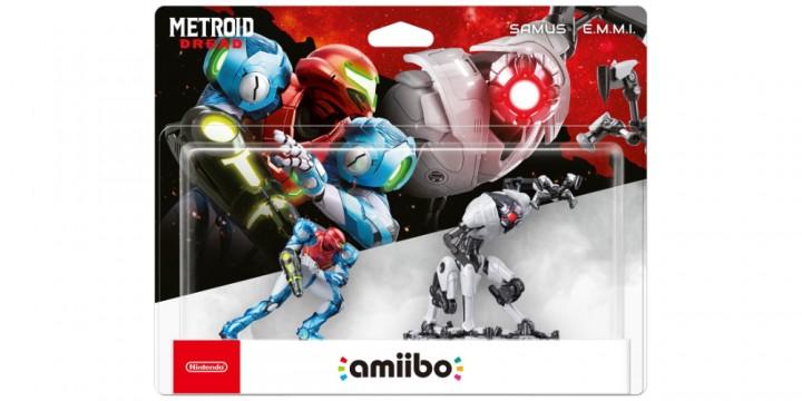Newsbild zu Jetzt vorbestellen: amiibo-Doppelpack zu Samus (Metroid Dread) und E.M.M.I.