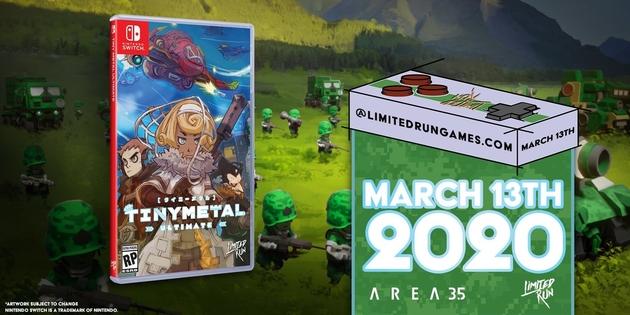 Newsbild zu Limited Run Games enthüllt Tiny Metal Ultimate für Nintendo Switch