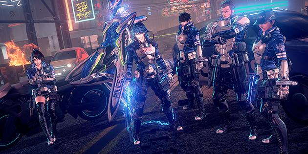Newsbild zu Diverses Gameplay-Material samt Eröffnungssequenz von Astral Chain veröffentlicht