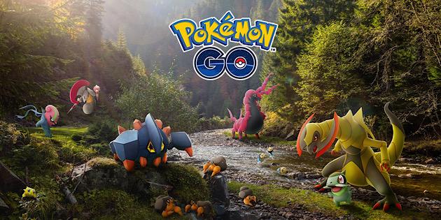 Newsbild zu Tausch-Entwicklungen und weitere Taschenmonster der Einall-Region halten Einzug in Pokémon GO
