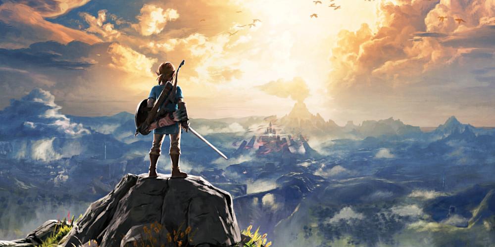 The Legend of Zelda: Breath of the Wild - Internationales Coverart