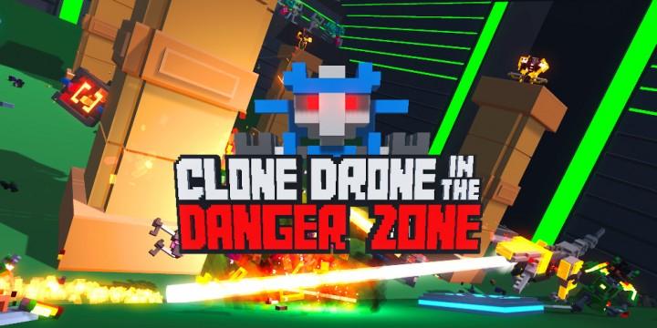 Newsbild zu Erlebt 2021 einschneidende Roboterkämpfe in Clone Drone in the Danger Zone auf der Nintendo Switch