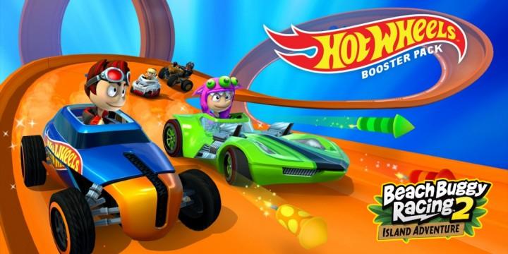 Newsbild zu Ab sofort erhältlicher Hot Wheels Booster Pack-DLC sorgt in Beach Buggy Racing 2: Island Adventure für heiße Reifen