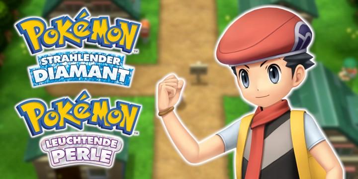 Newsbild zu Vergleichvideo stellt Pokémon Strahlender Diamant und Leuchtende Perle den DS-Originalen gegenüber