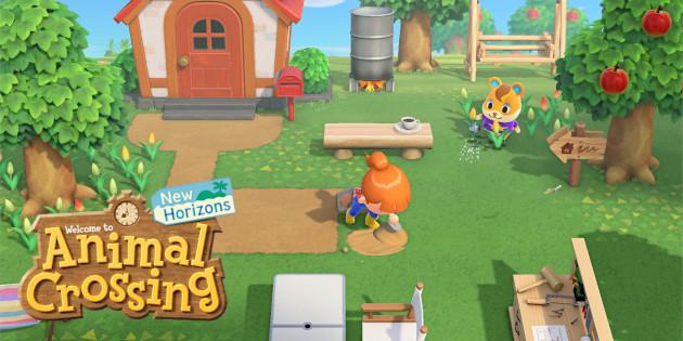 Newsbild zu Nintendo veröffentlicht einige Screenshots aus Animal Crossing: New Horizons
