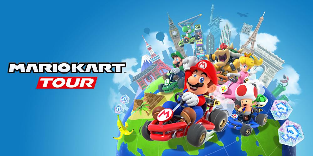 Mario Kart Tour - Keyart