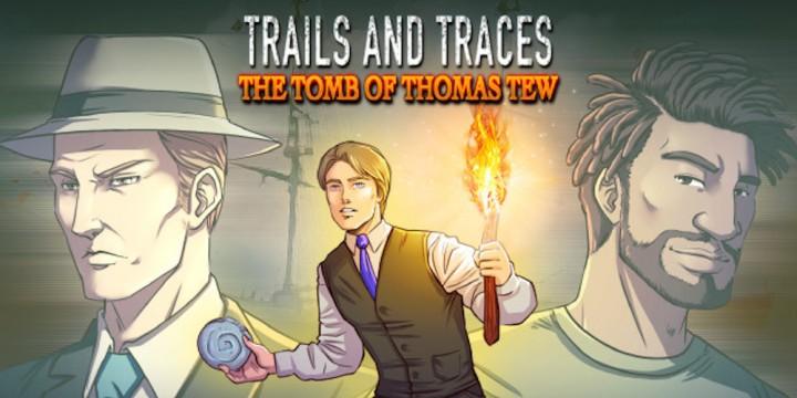 Newsbild zu Point-and-Click-Adventure Trails and Traces: The Tomb of Thomas Tew erscheint am 23. April für die Nintendo Switch