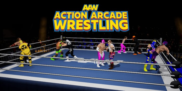 Newsbild zu Trailer zu Action Arcade Wrestling zeigt Eindrücke vom Ringkampf – Version für Nintendo Switch erscheint in Kürze