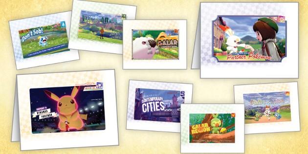 Newsbild zu Pokémon-Grußkarten zum Ausdrucken auf der Nintendo-Webseite erhältlich