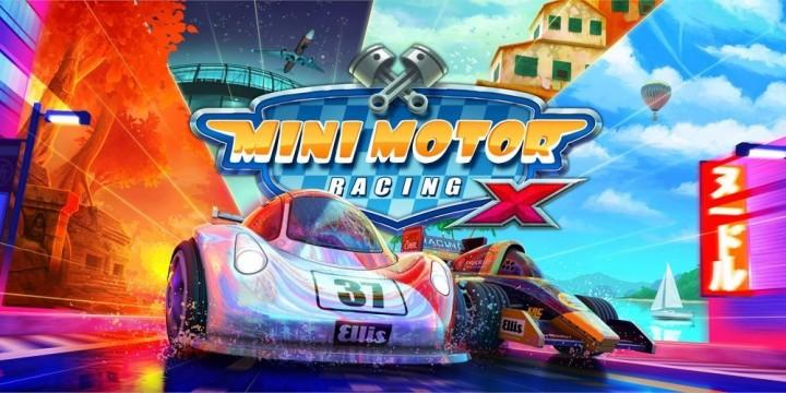 Newsbild zu Lasst die Reifen qualmen! Mini Motor Racing X erscheint im September für die Nintendo Switch