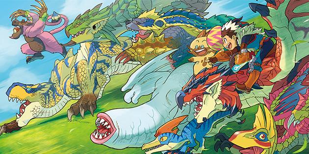 Capcom veröffentlichte weiteren Monster Hunter Stories Trailer