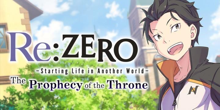 Newsbild zu Re:ZERO -Starting Life in Another World- The Prophecy of the Throne präsentiert sich in einem weiteren Trailer