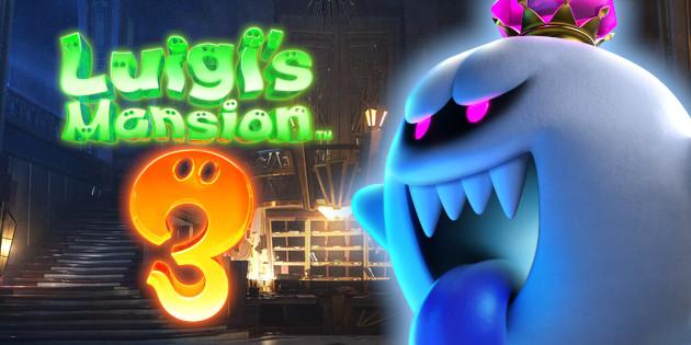 Newsbild zu Jetzt wird es unheimlich: Nintendo teilt Geister-Emoji zu Luigi's Mansion 3 per Twitter