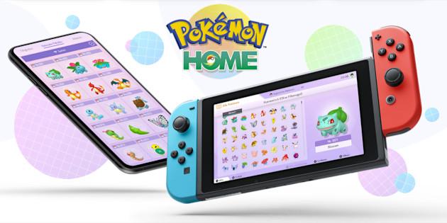 Newsbild zu Neue Infohäppchen und Screenshots zu Pokémon HOME aufgetaucht