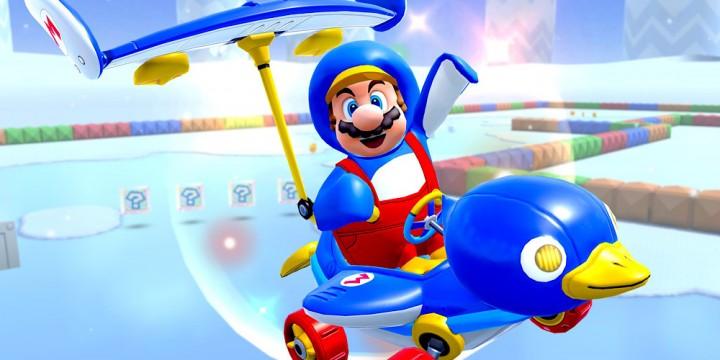 Newsbild zu Eine willkommene Abkühlung: Die Tour-Saison Frost startet heute in Mario Kart Tour
