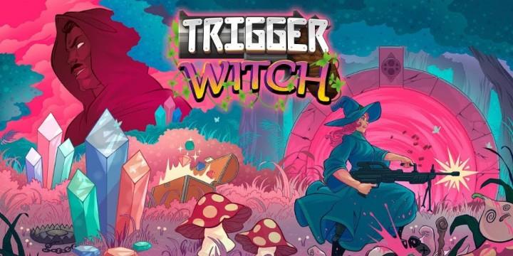 Newsbild zu Schießeisen statt Magie: Twin-Stick-Abenteuer Trigger Witch zaubert sich in diesem Sommer auf die Nintendo Switch