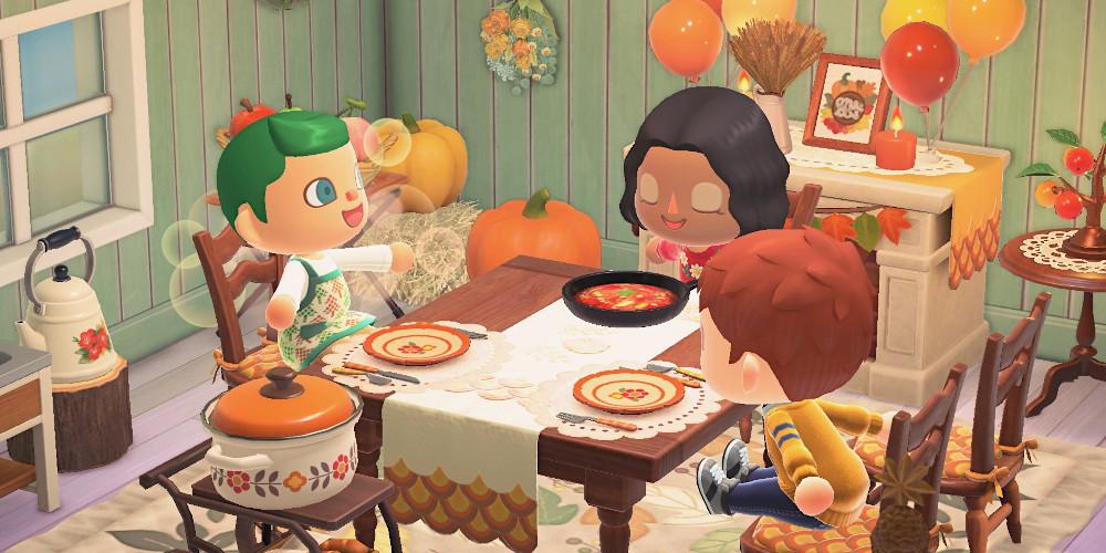 Animal Crossing: New Horizons - Festessen