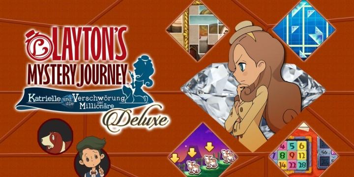 Newsbild zu Mit den Originalstimmen – Layton's Mystery Journey: Katrielle und die Verschwörung der Millionäre Deluxe Edition Plus angekündigt