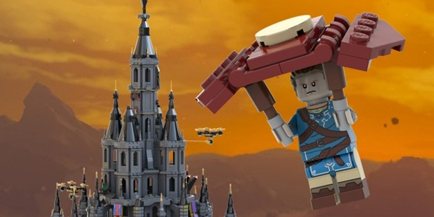 Newsbild zu Fan zeigt, wie ein LEGO-Set zu The Legend of Zelda: Breath of the Wild aussehen könnte