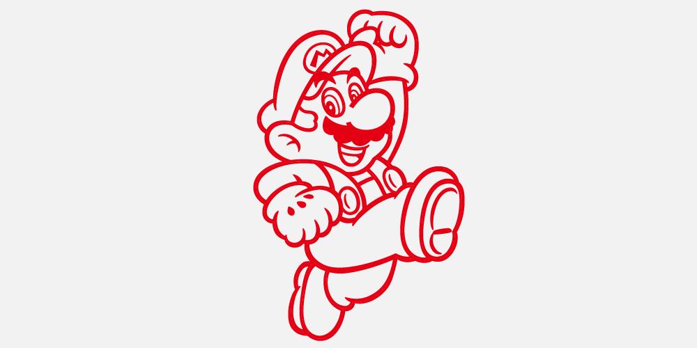 Super Mario Kollektion Zavvi