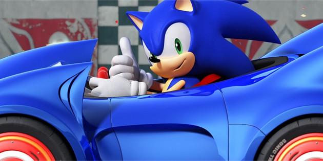 Sega bestätigt neues Rennspiel mit Sonic