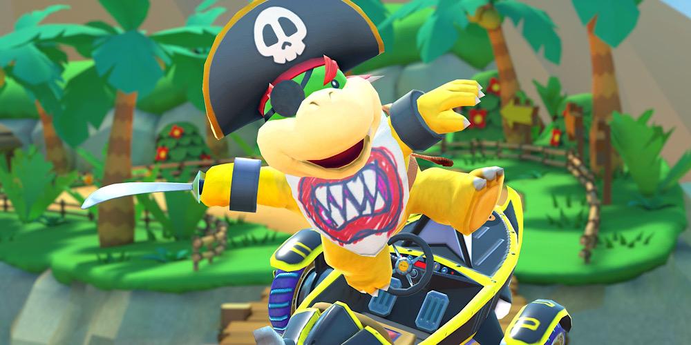 Mario Kart Tour Piraten-Tour-Saison