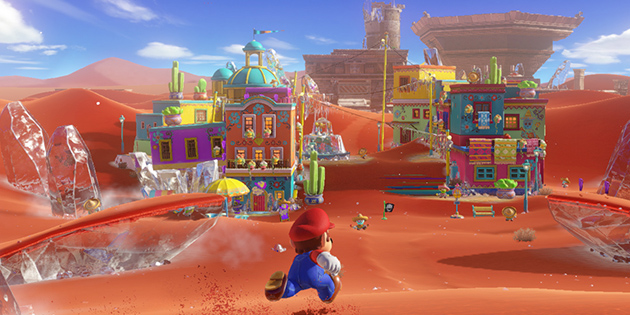 Newsbild zu Super Mario Odyssey in 64 Bit – Modder baut Spielwelt in Super Mario 64 nach