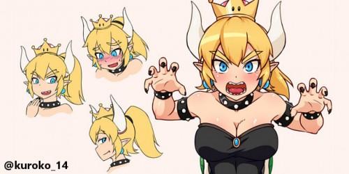 Newsbild zu Kurios: New Super Mario Bros. Wii-Modifikation fügt Bowsette als finalen Boss ins Spiel ein