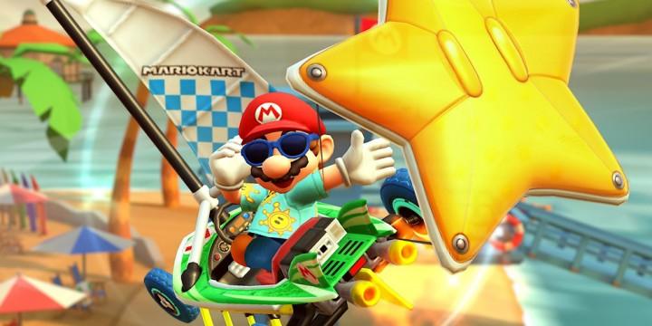 Newsbild zu Auf ein Neues: Die Los-Angeles-Tour-Saison bietet ab heute neue Herausforderungen in Mario Kart Tour