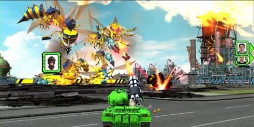 Newsbild zu ntower tv - Wii U Download-Gameplay: Tank! Tank! Tank!