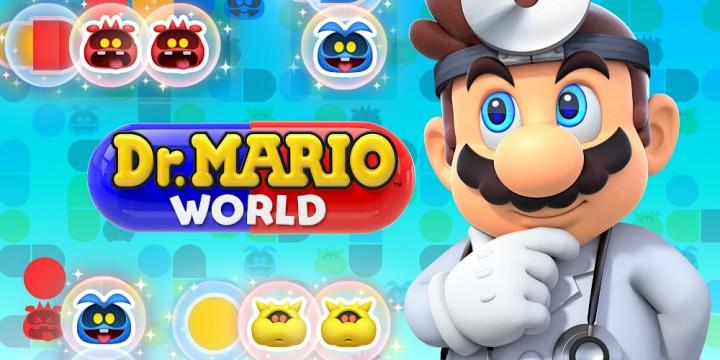 Newsbild zu Es gruselt in Dr. Mario World: Ein schauriger Doktor trifft im Mobile-Titel ein