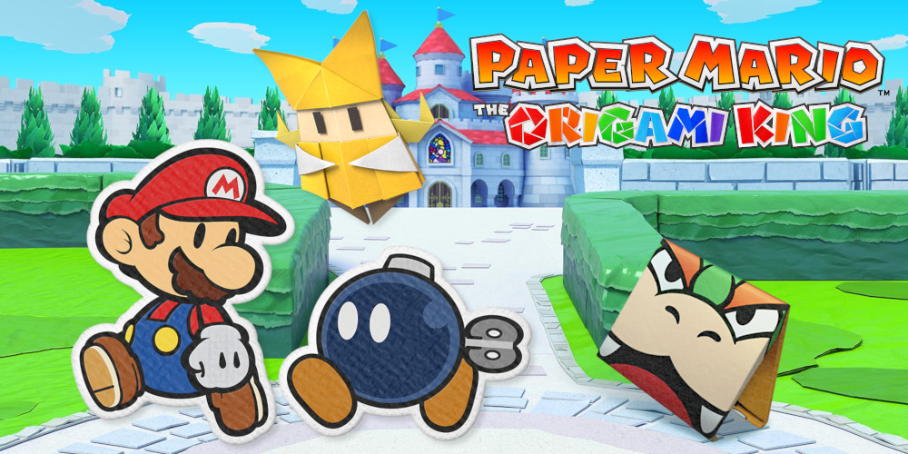 Paper Mario: The Origami King - Charaktere