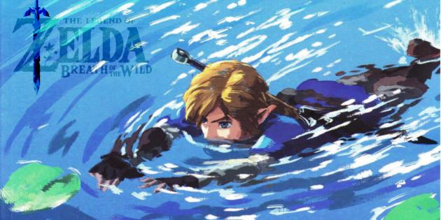Newsbild zu Bestaunt in The Legend of Zelda: Breath of the Wild die wunderschöne Unterwasserwelt von Angelstedt