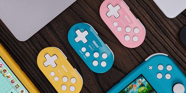 Newsbild zu 8BitDo veröffentlicht winzigen Controller für Nintendo Switch