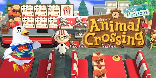 Newsbild zu Hungrig auf Hühnchen? KFC eröffnet virtuelle Filiale in Animal Crossing: New Horizons